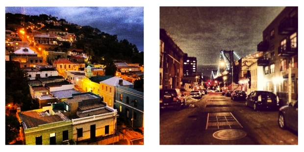 From Cape Town to Brooklyn, I'm lucky to live on some very cool streets.