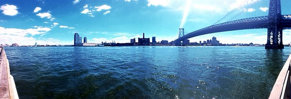 From the East River...